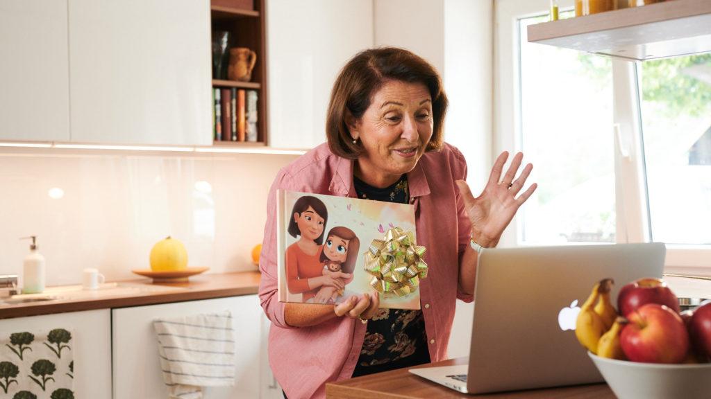 Hooray Heroes Book for Grandparents